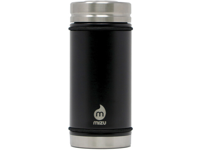 MIZU V5 Botella con aislamiento con Tapa en V 500ml, black